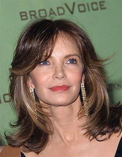 Best Haircuts For 50 Year Old Woman Medium hair styles