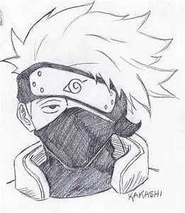 Kakashi Drawing Pencil