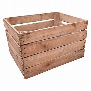 Obstkisten Holz Kostenlos : obstkiste 50 x 40 x 30 cm holz bauhaus ~ Buech-reservation.com Haus und Dekorationen