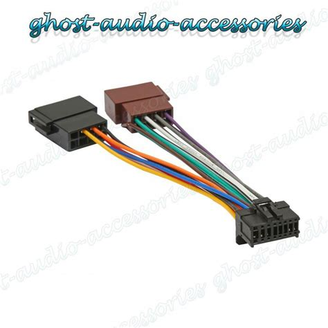 Pioneer Pin Iso Wiring Harness Connector Adaptor Car
