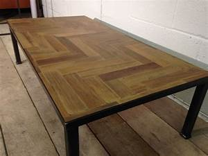 wings furniture and interiors reclaimed parquet coffee table With parquet reclaimed wood coffee table