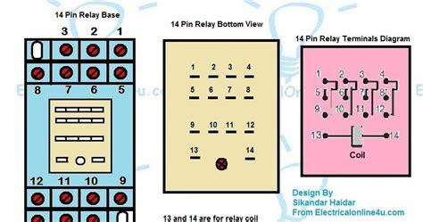 Pin Relay Base Wiring Diagram Finder