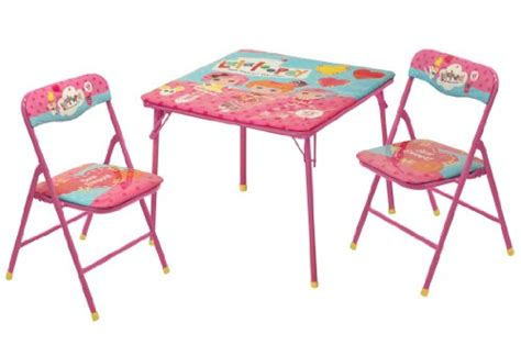 Kids Lalaloopsy Square Folding Card Table And 2 Chairs Set Reading Art Play Room Tell City Chairs Pattern 4526 Wedding Hire Melbourne Bistro Style Kitchen Tables Forza Horizon Gaming Chair White French Dining 2 Terry Lounge Covers Yellow Fabric Rattan Indoor Nz
