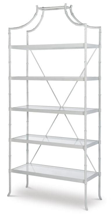 White Metal Etagere by Hh07 723 Cw Cloud White Regency Metal Etagere