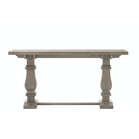 antique grey end table home decorators collection aldridge antique grey console 4092