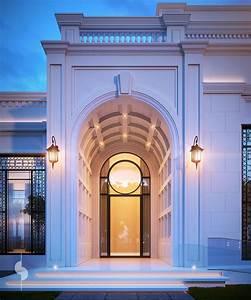 Architecture Neo Classique : diwan entrance 2000 m plot private villa ksa villas id al ~ Melissatoandfro.com Idées de Décoration
