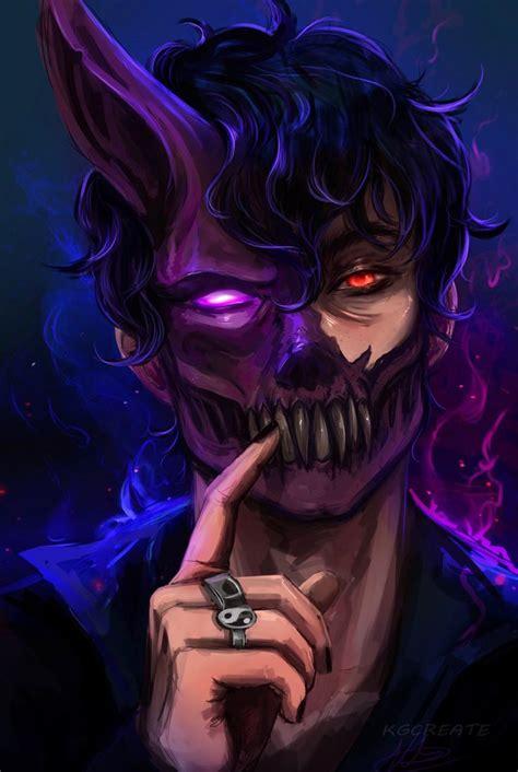 M ajor kusanagi from ghost in the shell. Anime male guy boy demon corpse husband fanart monster ...