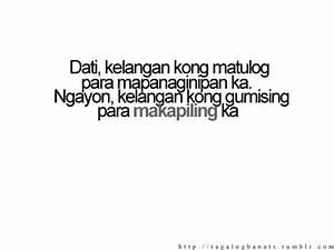 Love Quotes Tagalog Tumblr 2012