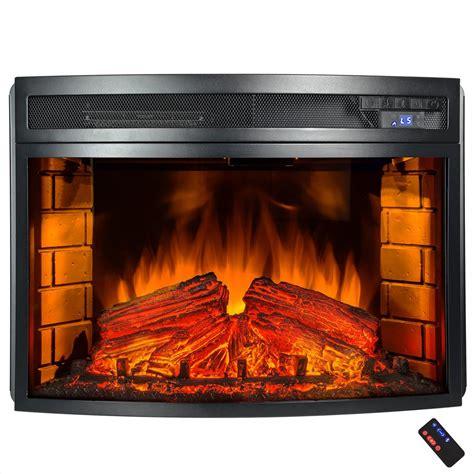 akdy   freestanding electric fireplace insert heater