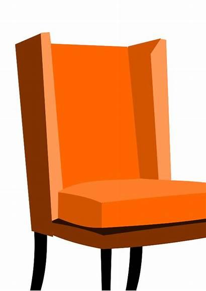Clip Fashioned Clipart Chair Armchair Cliparts Clipartpanda
