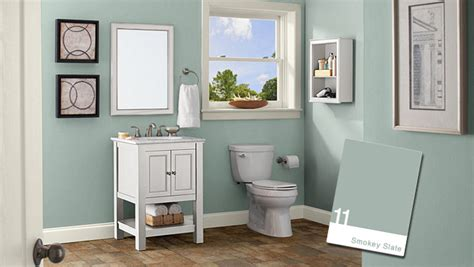 Bathroom Color Ideas Green-house Style Pictures