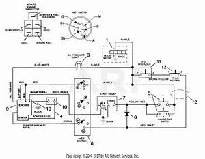 Gravely 988073  000101 -   Pro 300  18hp Kohler Parts Diagram For Electrical