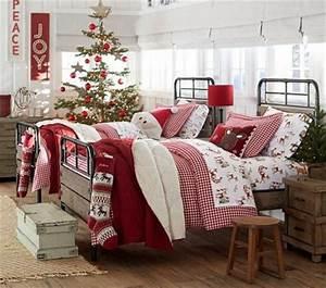 Decoración navideña para dormitorios infantiles