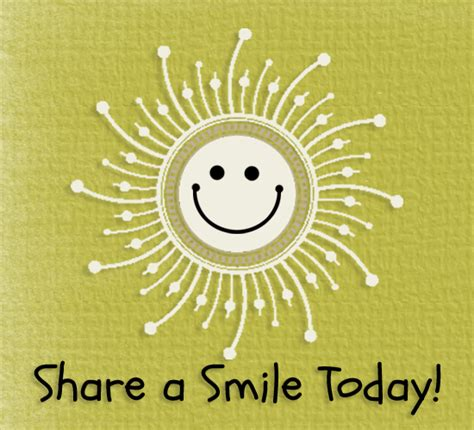 smiling sun share smile day ecards greeting cards