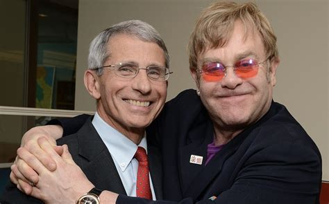 elton john honors anthony fauci   hiv work