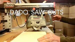 How To Dado With The Radial Arm Saw