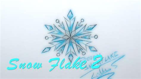easy  draw popular disney frozen snow flake