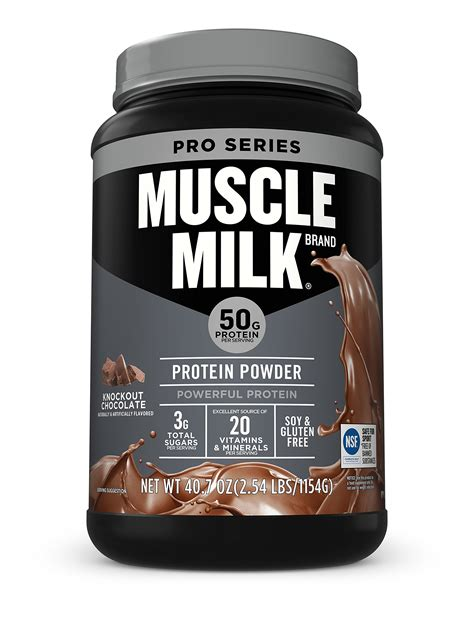 Amazon.com: Muscle Mlk Pro Series 50 Knockout Chocolate, 2