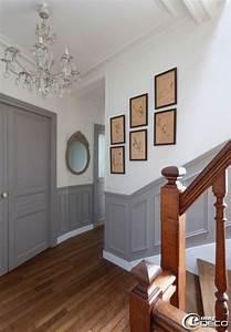 comment peindre des boiseries interieures habitatpresto With couleur peinture couloir entree 2 mise en peinture domozoom
