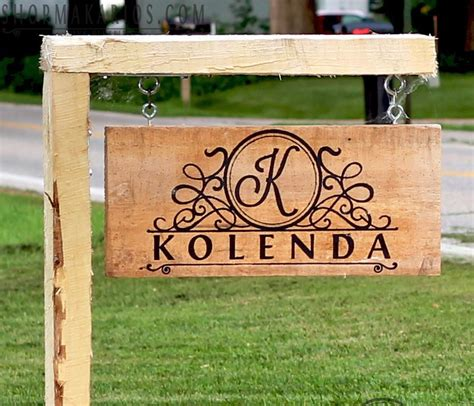 Custom Backyard Signs by Custom Outdoor Sign Yard Sign Personalized Yard Sign