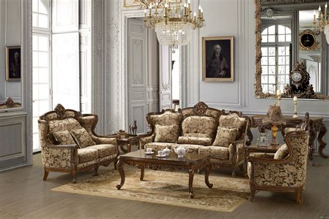 traditional sofa set formal living room furniture mchd839