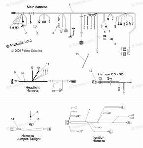 Yamaha Snowmobile Wiring Harness Diagram