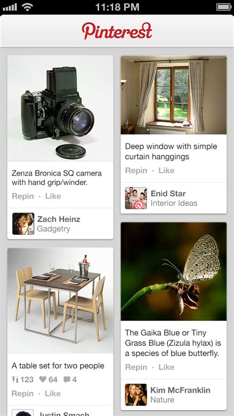 Pinterest App Can Now Edit Pins, Manage Comments - iClarified