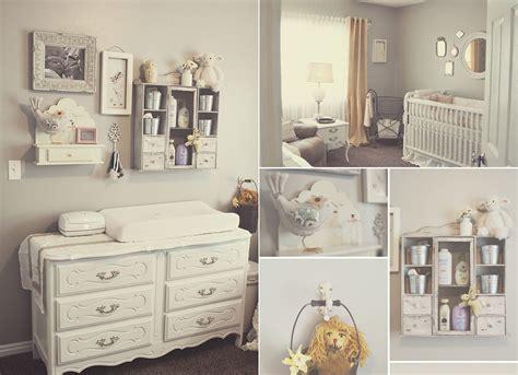 Estilo shabby chic para decorar habitaciones de bebés