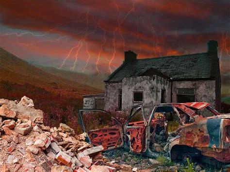 post apocalyptic scene  photoshop onlinedesignteacher