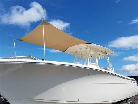 Boat T Top Shade by Marine Tension Shade Options Specialty Fabrics Review