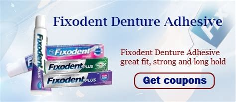 fixodent coupons coupon network