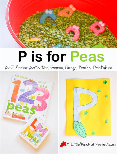 letter of the week a z series p is for peas 200 | PisforPeasActivitiesALittlePinchofPerfectTitle2copy