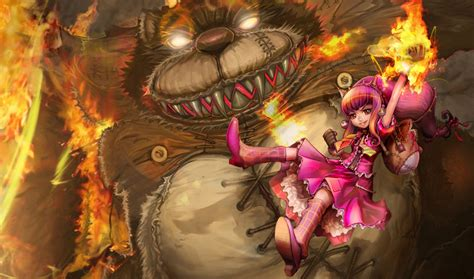 League Of Legends Annie Wallpapers Hd Free Download