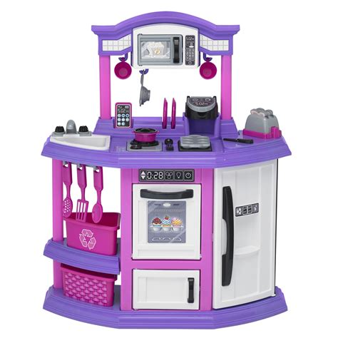 american plastic toys kitchen american plastic toys 22 baker s kitchen set