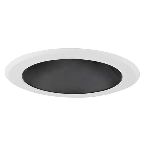 5 inch recessed light black reflector trim for 5 inch recessed housings t500b