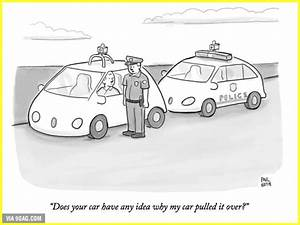 When we all ride in self-driving cars in the near future ...