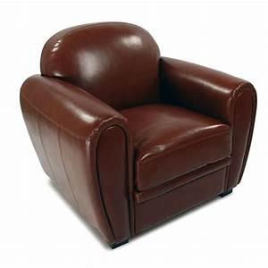 Fauteuil Club Pas Cher : fauteuil club cuir ~ Teatrodelosmanantiales.com Idées de Décoration