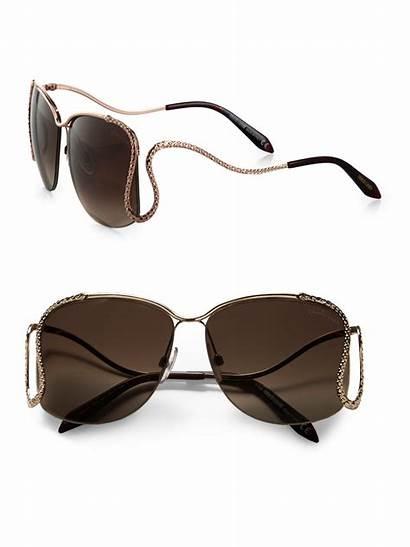 Cavalli Sunglasses Roberto Square Gold Brown