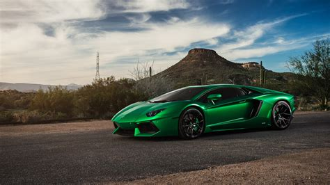 Lamborghini Aventador Green 4k, Hd Cars, 4k Wallpapers