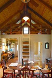 interiors of small homes beautiful 480 sq ft prefab cabin with screened porch