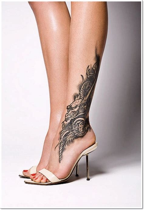 35 Fantásticos Tatuajes Para El Tobillo