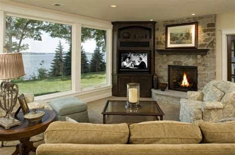 Living Room Setup With Corner Tv by Modern Living Room Designs That Use Corner Units