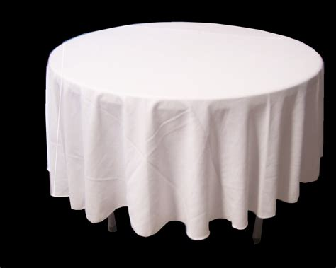 round white table cloth white round tablecloth 3 3m a touch of eleganz