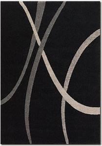 Starlight supernova 4508 3424 black white grey rug for Modern grey carpet texture