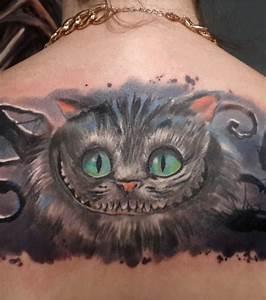 Chat D Alice Au Pays Des Merveilles : tatouage chat alice aux pays des merveilles cochese tattoo ~ Medecine-chirurgie-esthetiques.com Avis de Voitures