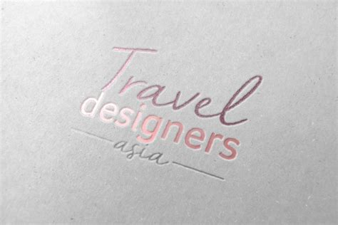 travel designer logo namecard and website design serene soh singapore freelance designer