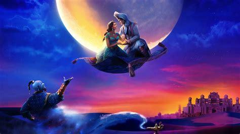 wallpaper aladdin genie naomi scott princess jasmine