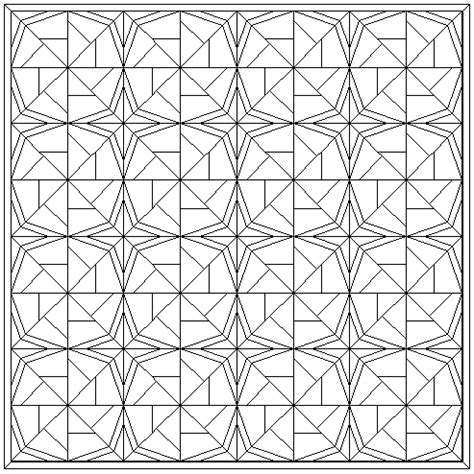 "Free Quilt Patterns   Block of the Month Pinwheel ""Wheel of Fortune"" block   page 1 sampl quilt"