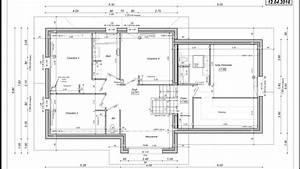 plan maison demi niveau With plan maison demi niveau