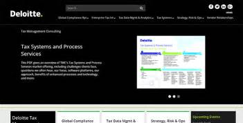 Deloitte Tax Management Consulting Collateral Kiosk